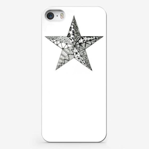 Чехол iPhone «Яркая звезда»