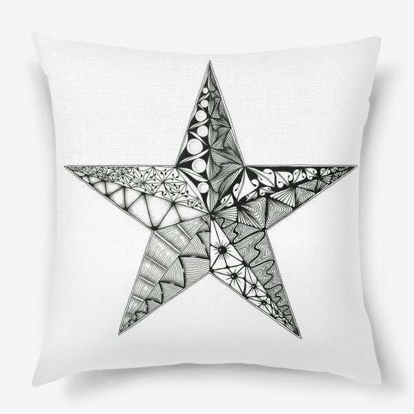 Подушка «Яркая звезда»