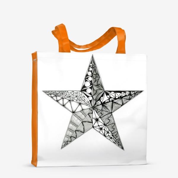 Сумка-шоппер «Яркая звезда»