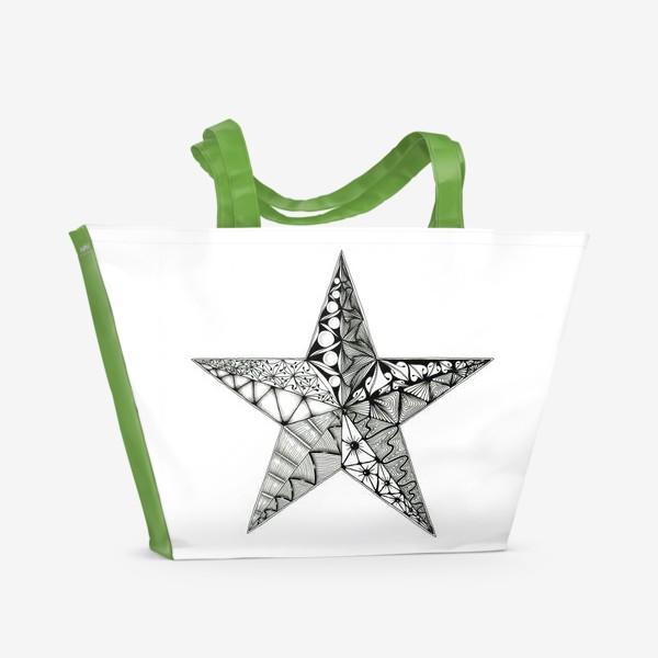 Пляжная сумка «Яркая звезда»