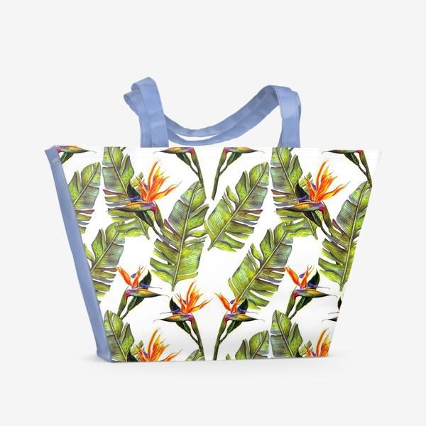 Пляжная сумка «Тропики»