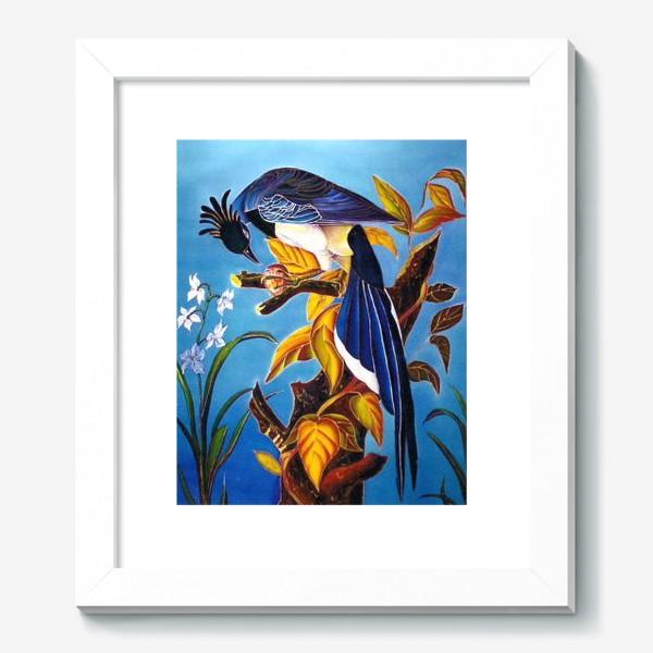 Картина «синяя птица »