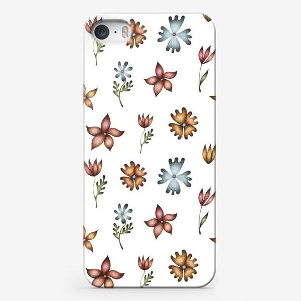 Чехол iPhone «Весенние полевые цветы»