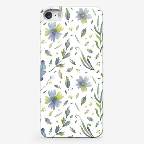 Чехол iPhone «Полевые цветы и травы»