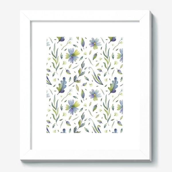 Картина «Полевые цветы и травы»