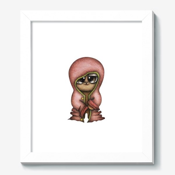 Картина «Смешной персонаж в красной куртке»