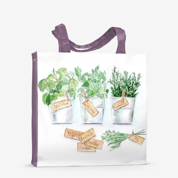 Сумка-шоппер «Прованские травы»