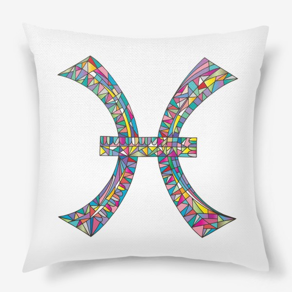 Подушка «Знак зодиака РЫБЫ»