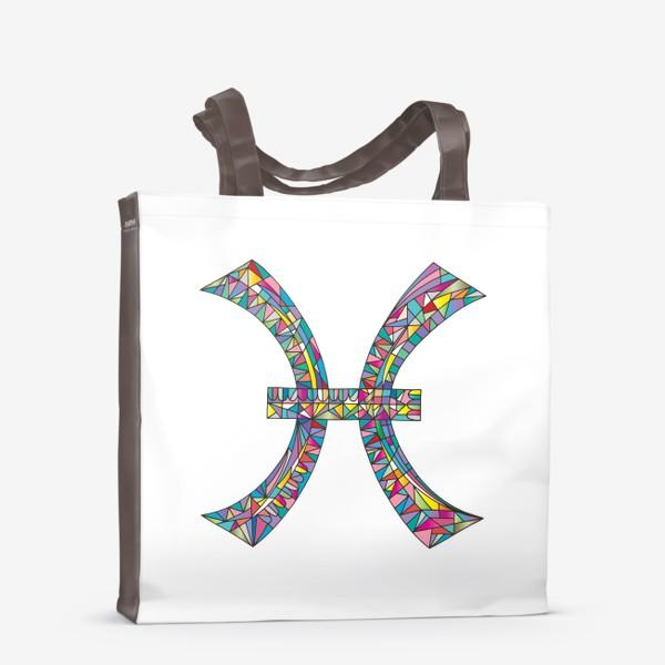 Сумка-шоппер «Знак зодиака РЫБЫ»
