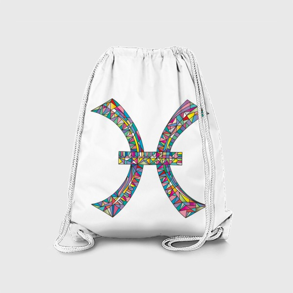 Рюкзак «Знак зодиака РЫБЫ»