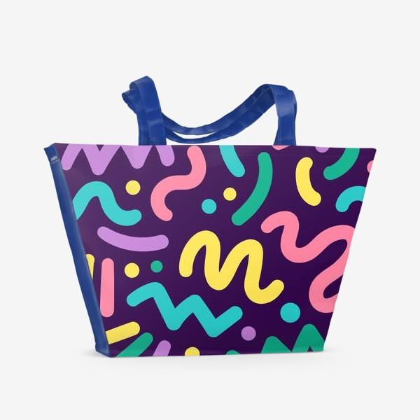 Пляжная сумка «Озорной узор»