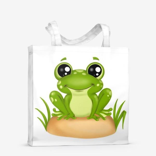 Сумка-шоппер «Лягушонок»