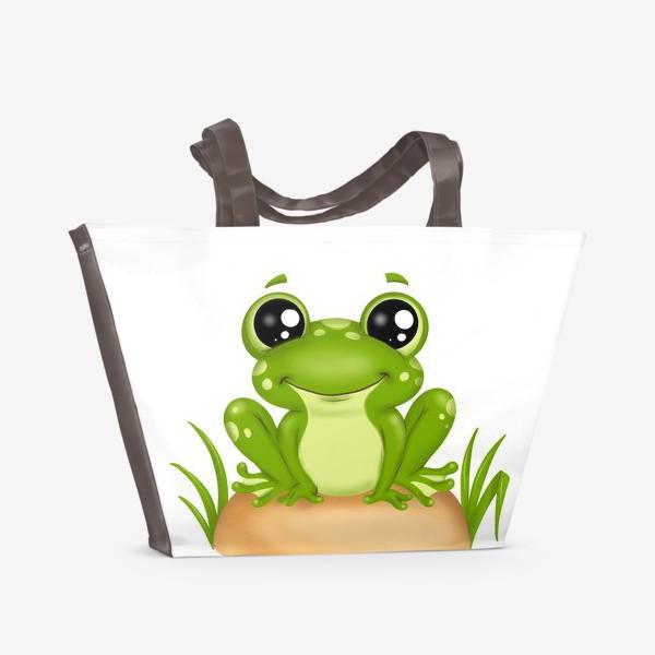 Пляжная сумка «Лягушонок»