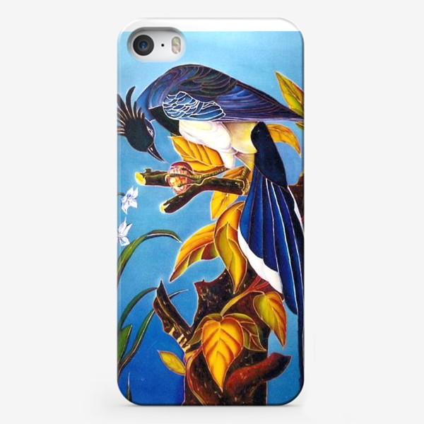 Чехол iPhone «синяя птица »
