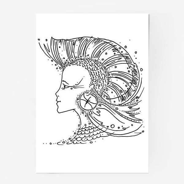 Постер «Рыбы зодиак»