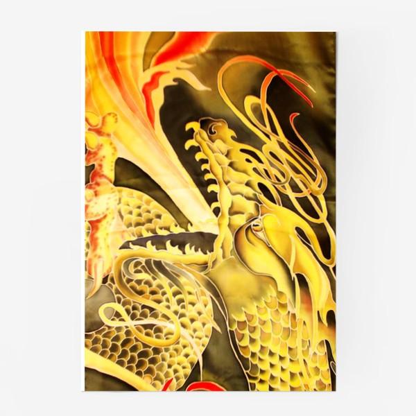 Постер «Зеленый дракон »