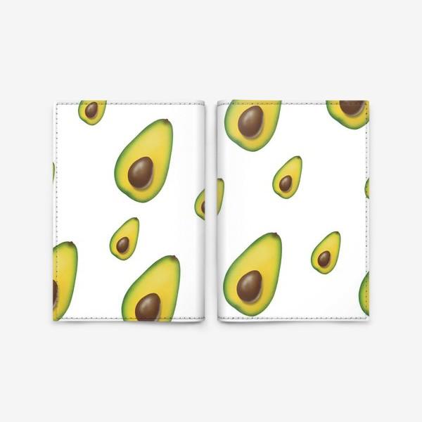 Обложка для паспорта «авокадо»