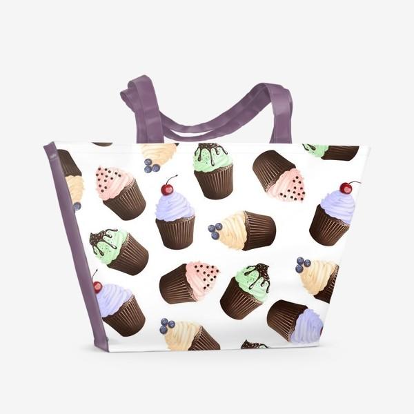 Пляжная сумка «очень сладко»