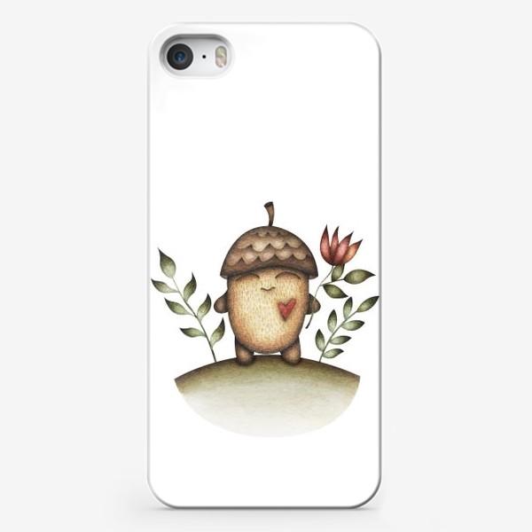 Чехол iPhone «Милый персонаж в отличном настроении»