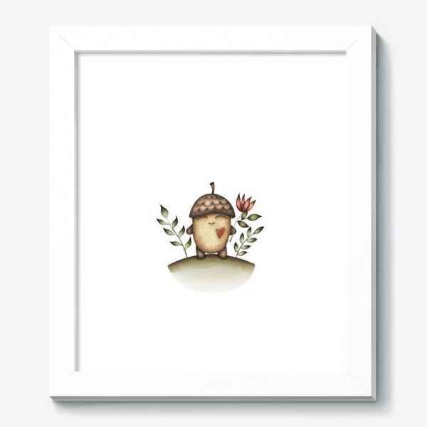 Картина «Милый персонаж в отличном настроении»
