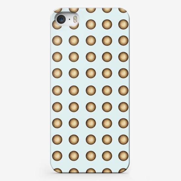 Чехол iPhone «Геометрический паттерн на мятном фоне»