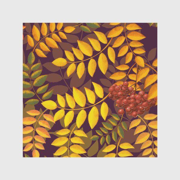 Скатерть «лиственный паттерн»