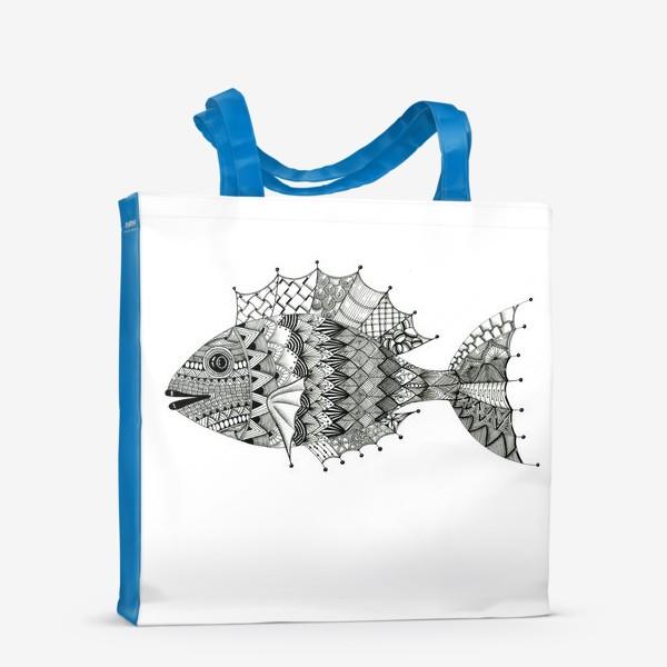 Сумка-шоппер «Хитрая рыба»