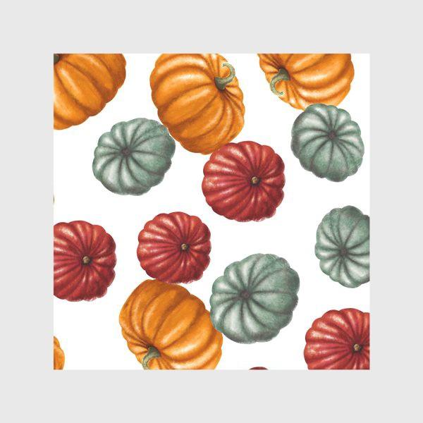 Скатерть «цветные тыквы»