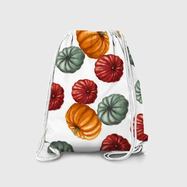 Рюкзак «цветные тыквы»