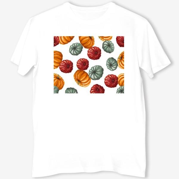 Футболка «цветные тыквы»