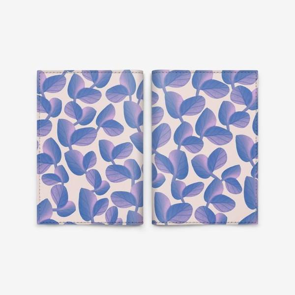Обложка для паспорта «цветочные мотивы»