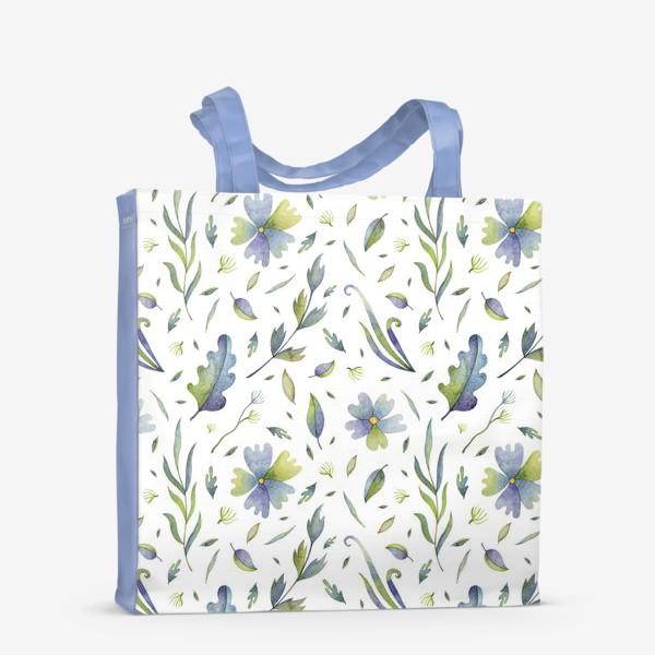Сумка-шоппер «Полевые цветы и травы»