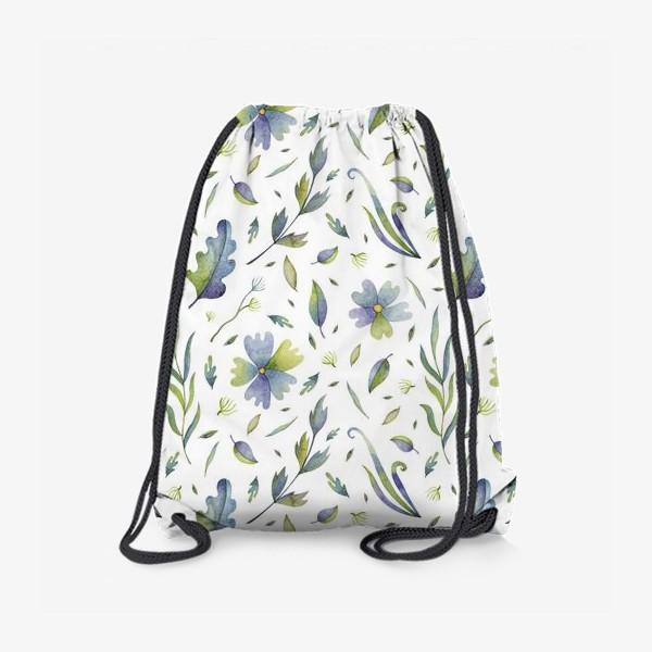 Рюкзак «Полевые цветы и травы»