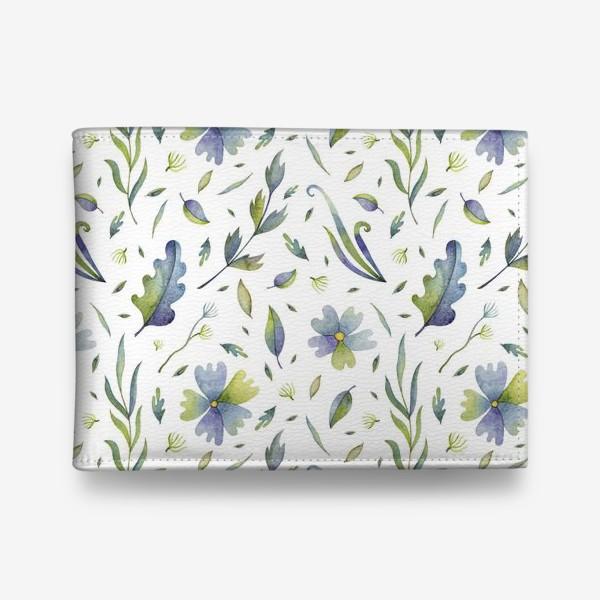 Кошелек «Полевые цветы и травы»