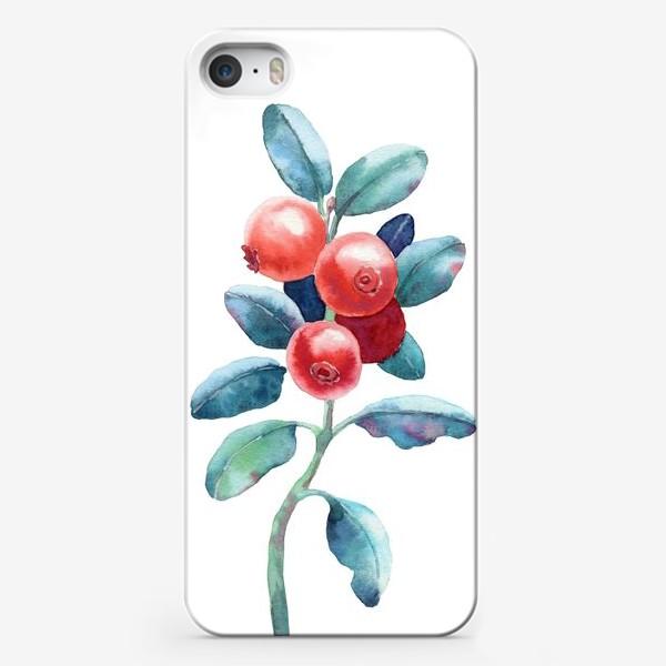 Чехол iPhone «Брусника»