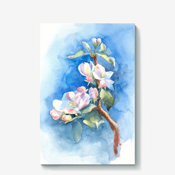 Холст «Цветы яблони»