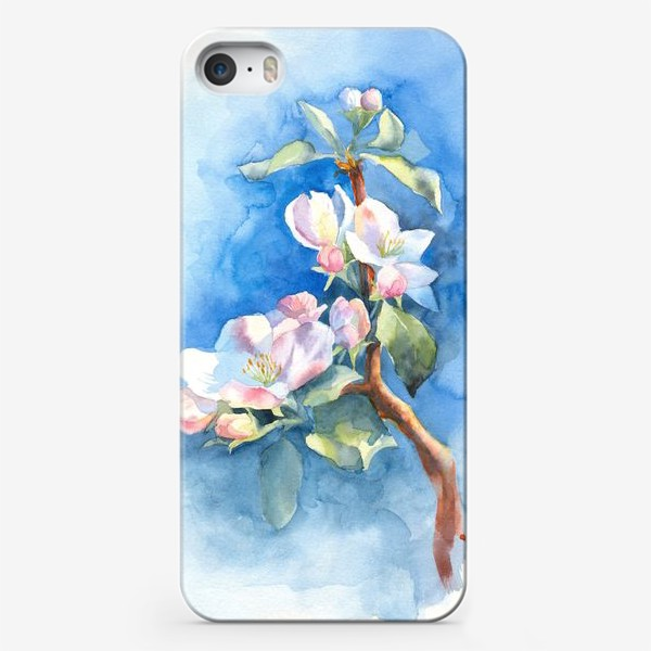 Чехол iPhone «Цветы яблони»