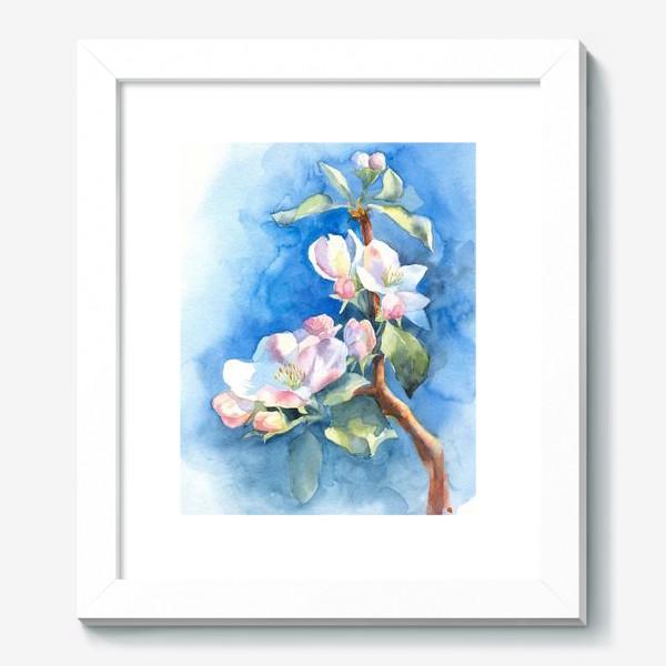 Картина «Цветы яблони»