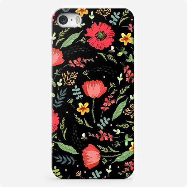 Чехол iPhone «Яркие летние цветы»