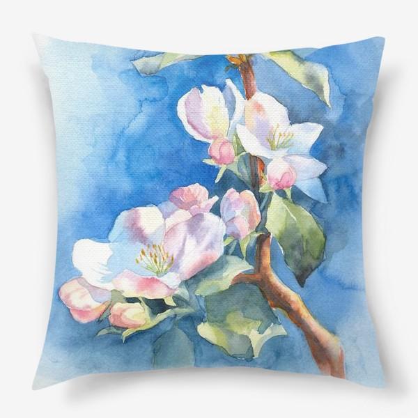 Подушка «Цветы яблони»
