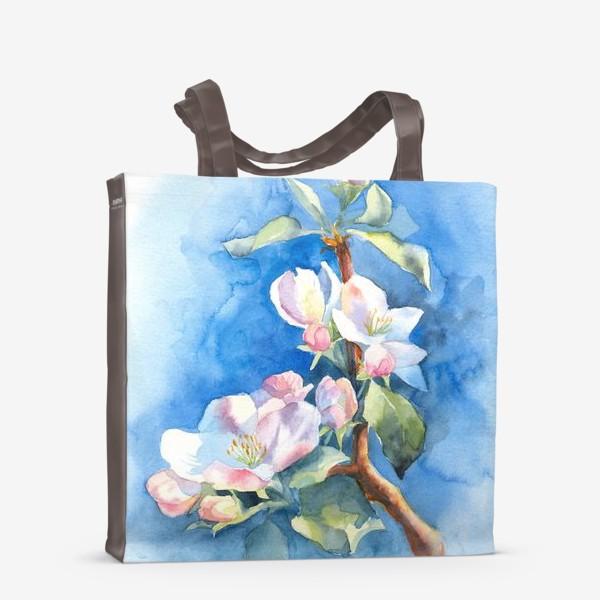 Сумка-шоппер «Цветы яблони»