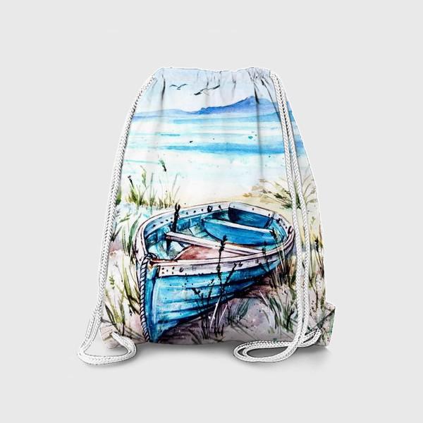 Рюкзак «лодка на берегу»