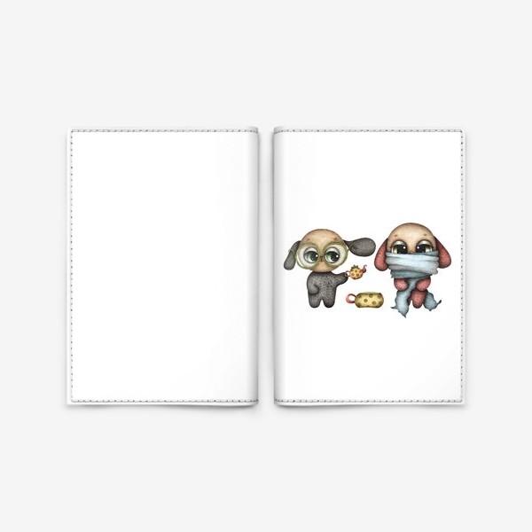 Обложка для паспорта «Пригласить друга на чай»