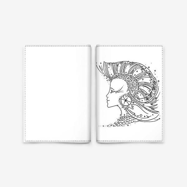 Обложка для паспорта «Рыбы зодиак»