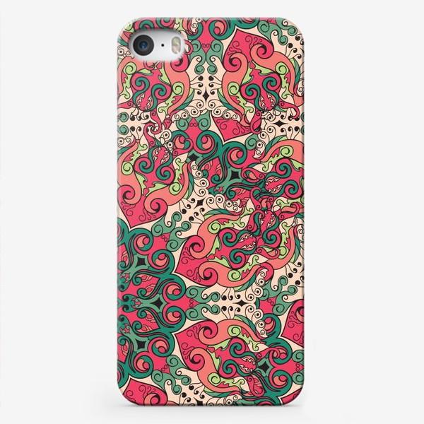 Чехол iPhone «Паттерн Malena»