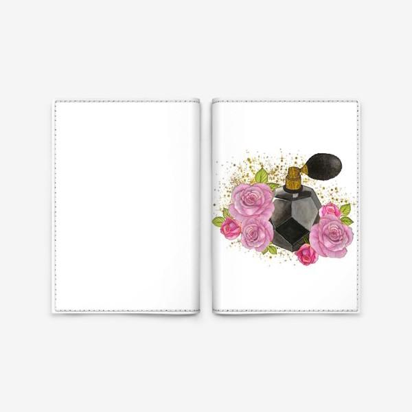 Обложка для паспорта «Духи и Розы»