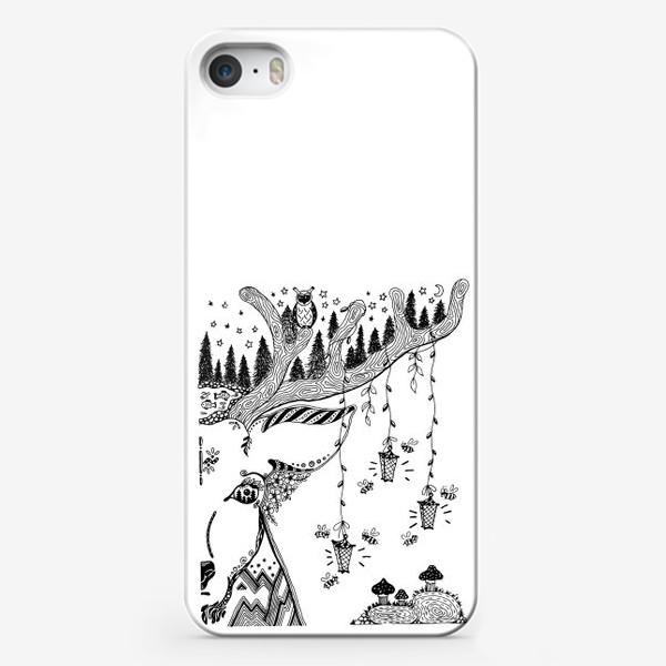 Чехол iPhone «Сказочный олень»
