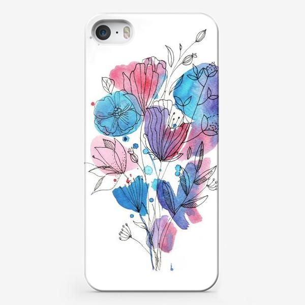 Чехол iPhone «Небрежный букет»