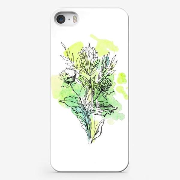 Чехол iPhone «Свежесть весны, букет»