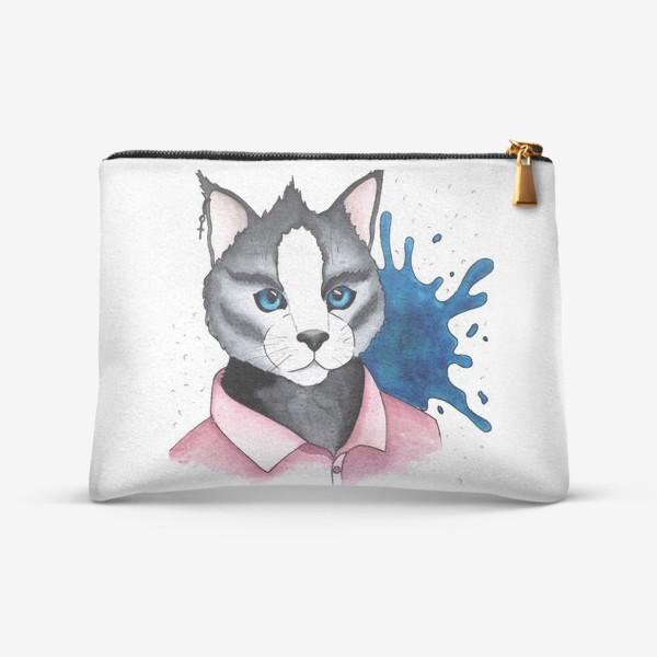 Косметичка «Кот на стиле»